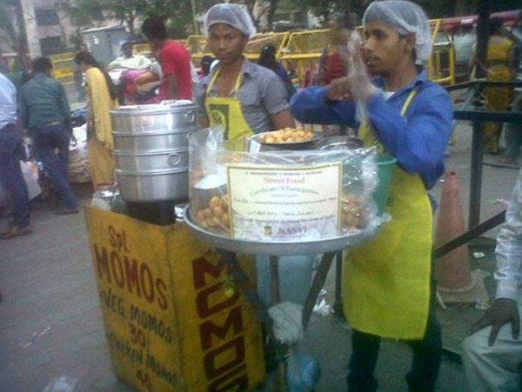 Hygiene lessons to help street food vendors of Delhi